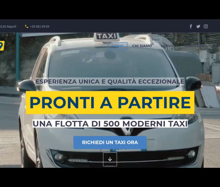 0816969.it – Radio Taxi Napoli